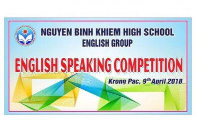 """Sinh hoạt Câu lạc bộ Tiếng Anh với chủ đề: """"English Speaking Competition"""""""