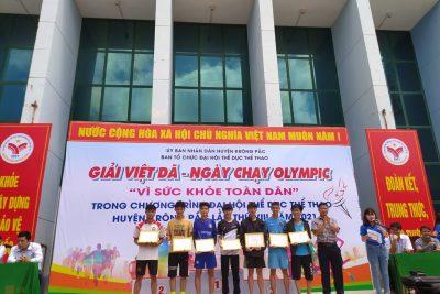 """Giải Việt dã – Ngày chạy Olympic """"Vì sức khỏe toàn dân"""""""