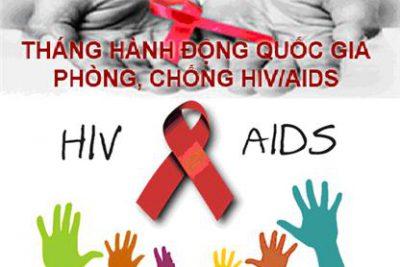Tháng hành động Quốc gia phòng, chống HIV/AIDS năm 2020.